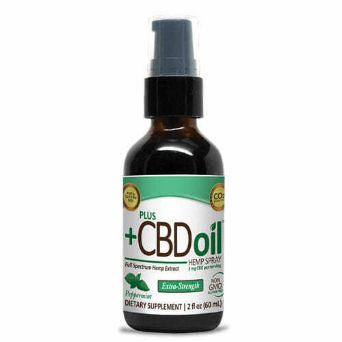2oz Plus CBD hemp Drops