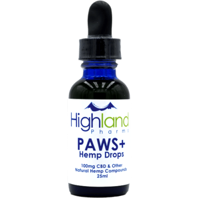 Highland Pharms Paws CBD Pet Drops