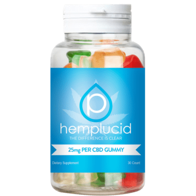 Hemplucid Whole-Plant CBD Gummies