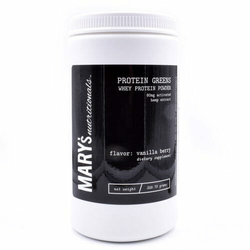 CBD Protein Greens - Mary's Nutritionals