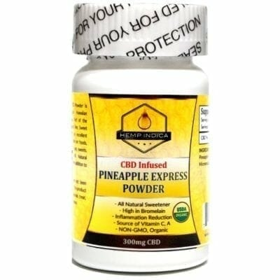 CBDHempIndica Pineapple Express CBD powder