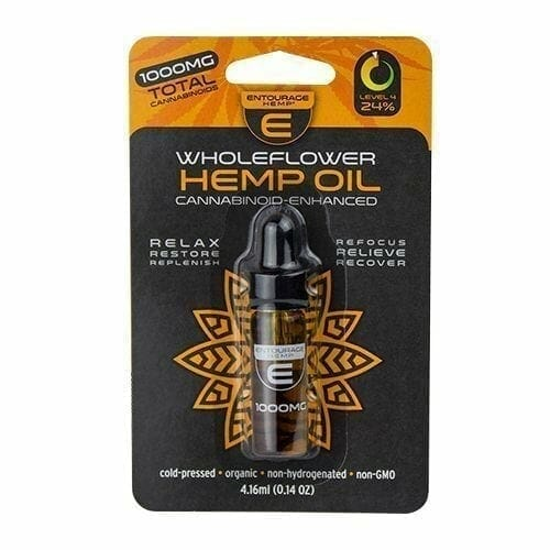 Entourage WholeFlower 1000mg CBD Tincture