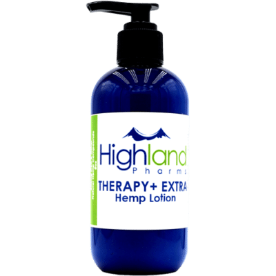 Highland Pharms CBD Lotion - pump top 4oz