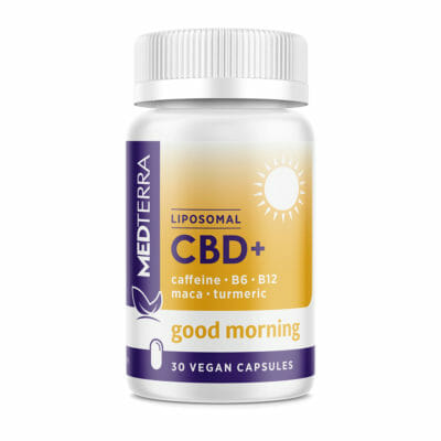 Medterra Liposomal CBD Good Morning Gel Caps